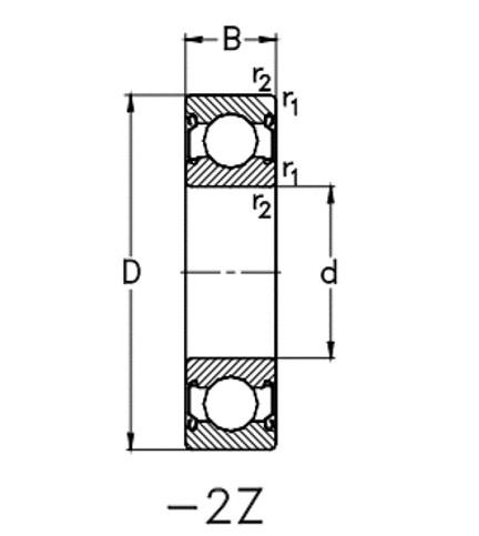 SERIE 618 es Z/2Z NKE