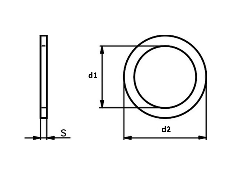 Rondelle spessoram DIN 988 Serie PS