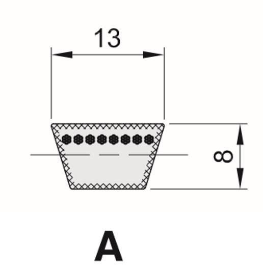 Cinghia Trapezioidale Sezione A