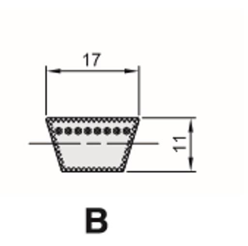 Cinghia Trapezioidale Sezione B