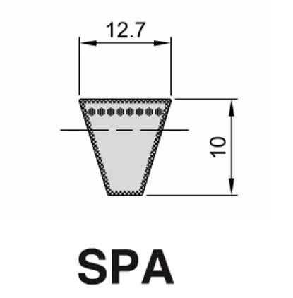 Cinghia Trapezioidale Sezione SPA
