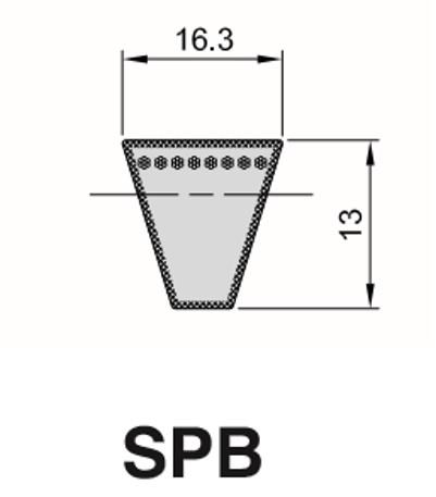 Cinghia Trapezioidale Sezione SPB