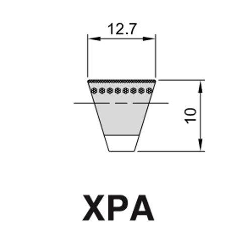 Cinghia Trapezioidale Sezione XPA