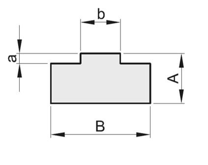 Guidacatene in polietilene profilo